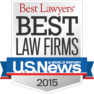 2015 Best Law Firms Logo